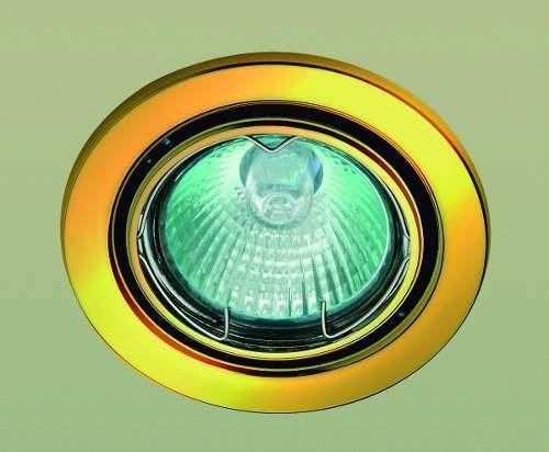 2 spot de embutir bronzearte com lâmpada gu10 - 220v ou 110v