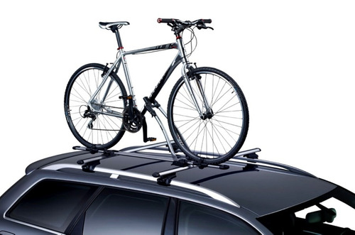 2 suporte bicicleta calha teto transbike thule freeride 532