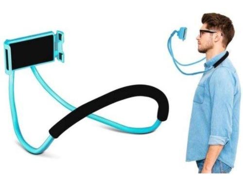 2 suporte celular articulado de pescoço self cama mesa sofá