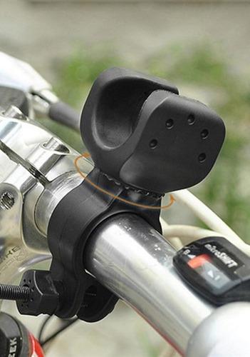 2 suporte de lanterna bike universal para guidão.