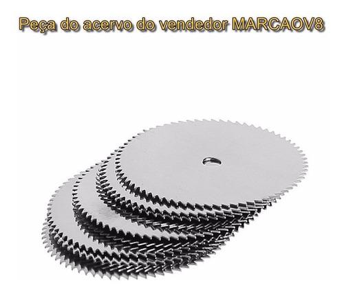 2 suportes + 10 discos hss de 22 mm p micro retifica dremel