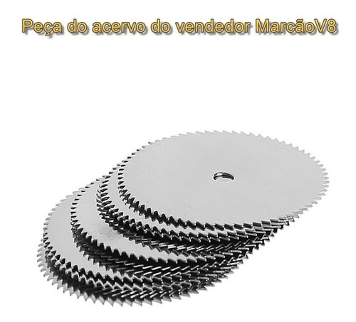 2 suportes + 10 discos hss de 32 mm p micro retifica dremel