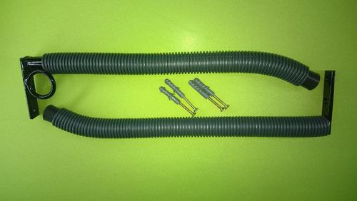 2 suportes de parede para bicicleta-horizontal