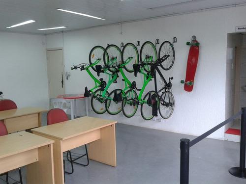 2 suportes de parede para bike - bicicleta ...