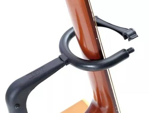 2 suportes p/ violão guitarra baixo pedestal c trava ask g3s