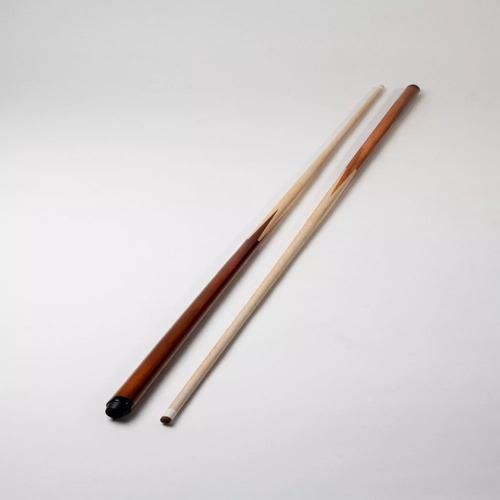 2 tacos de pool madera 4 puntas puntera  1,40 cms