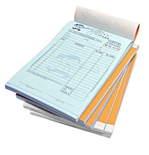 2 talonarios de factura, recibo, monotributo imprenta afip