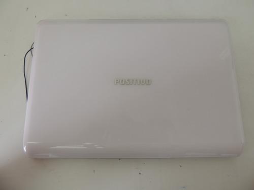 2 - tampa da tela notebook positivo mobo 3g 2055