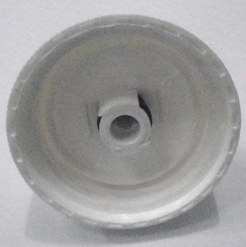 2 tampas garrafa caramanhola térmica polar bottle branca.