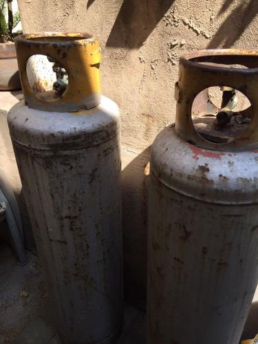 2 tanques de gas de 30 litros seminuevos