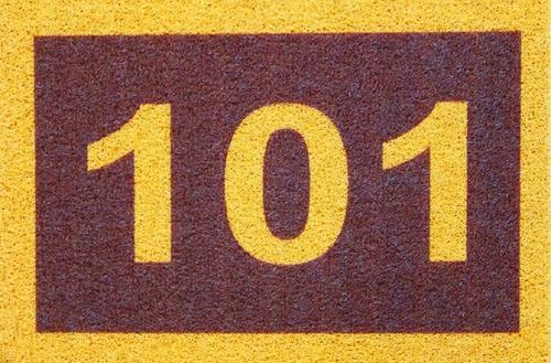 2 tapete capacho personalizado número apto condomínio prédio