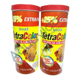2 Tarros Tetra Color Granulo 300+75gr Ed - g a $140