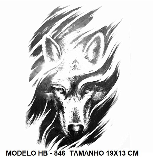 Lobo Desenho Para Tattoos