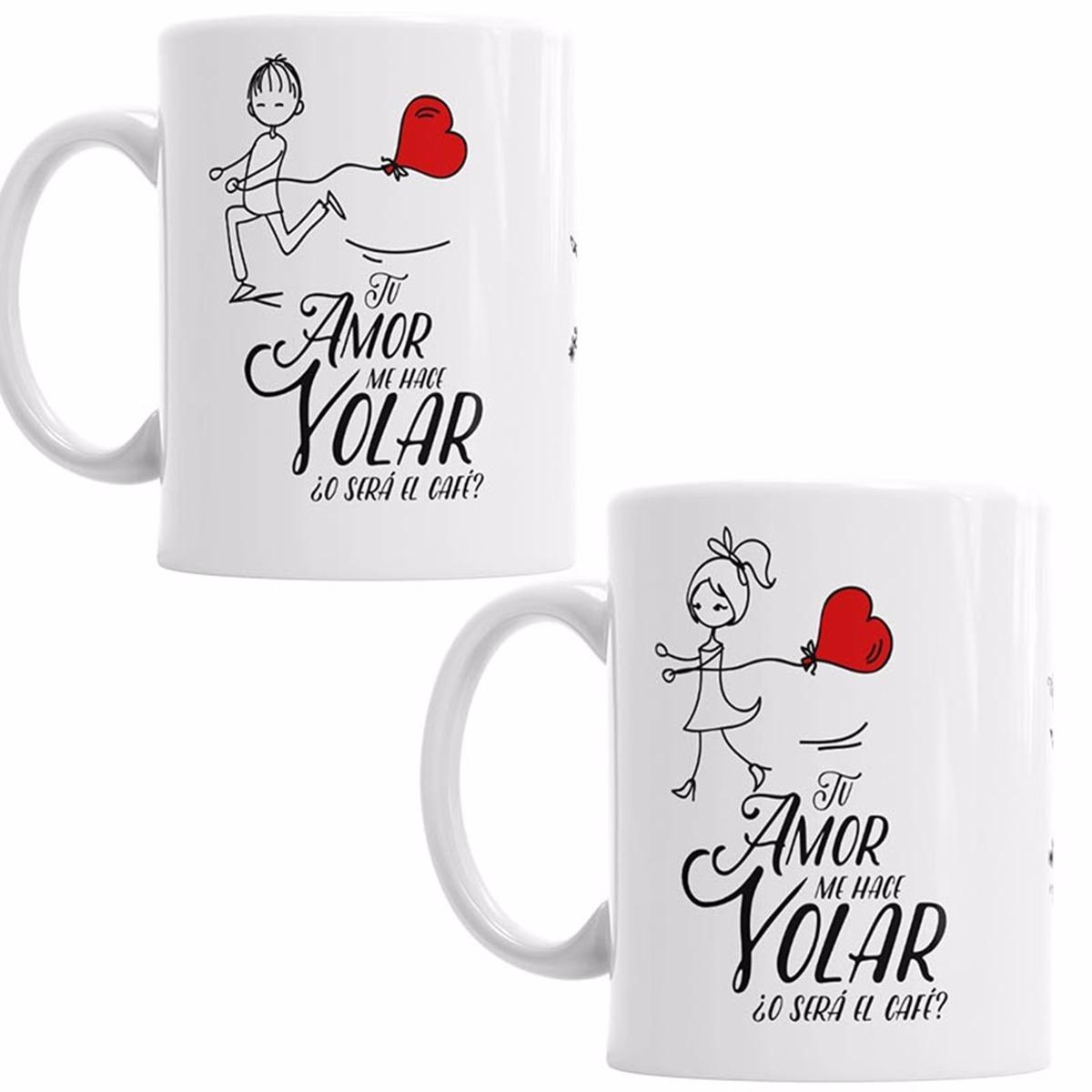 2 tazas de pareja para novios boda aniversario regalo 3 for Regalos novios boda