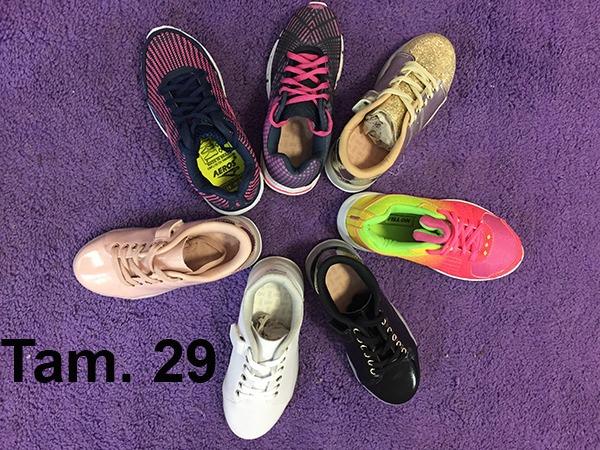 fb3b84146fe 2 Tenis Infantil Feminino Kidy Promo 50% Off 25 Ao 34 - R  139