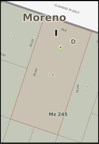 2 terrenos de 1500 m2 total en barrio alcorta