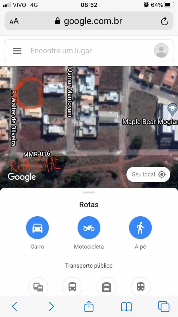 2 terrenos juntos residencial dos bosques-mogi mirim-sp