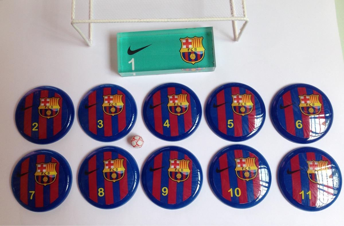 538bbfb717 2 Times De Futebol De Botão - Barcelona E Santos - R  139