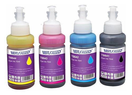 2 tinta para epson 70ml combo de 2 t664 l200 l110 l210 l355