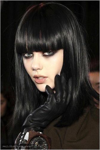 2 tinte color negro puro (raven de manic panic)