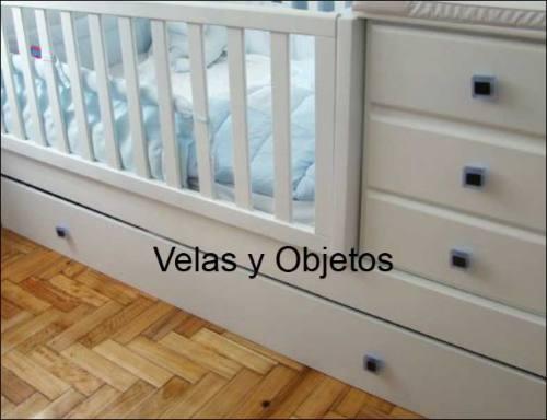 2 Tiradores- Manijas Para Muebles Cajon Puertas, Cunas, Cuna - $ 80 ...
