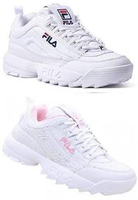be729716675 Kit 2 Tenis Sneaker Fila Unissex Original Promoção Envio 24h