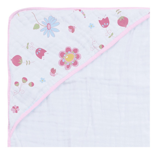 2 toalhas soft fralda com capuz 80 cm x 80 cm 100% algodão