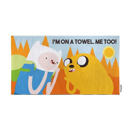2 toallones disney grande playero algodón infantiles piñata