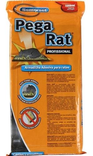 2 trampa adhesiva grande pegamento mata rata raton laucha - efectivo sin veneno - entrega inmediata