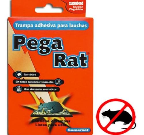 2 trampa adhesiva pegamento mata laucha sin veneno pega rat