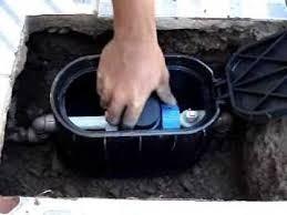 2 und caixa proteção p/ hidrômetro passeio piso