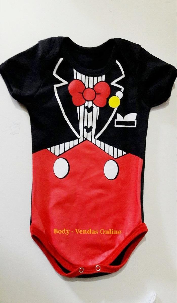 2 und roupinha body bodies mickey super homem bebê infantil. Carregando zoom . c84560c28c1