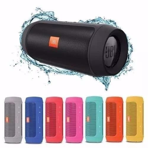 2 unid caixa de som recarregável charge 2 portátil bluetooth