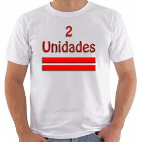 2 Unidades Camiseta E/ou Baby Look E/ou Regata Frete 10