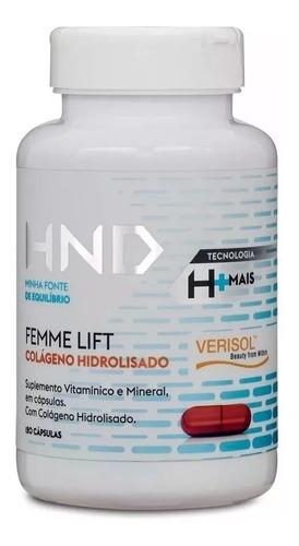 2 unidades -colágeno hidrolisado hnd 120 cápsulas - original