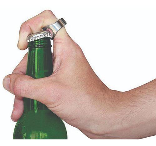2 unidades do anel abridor de garrafas