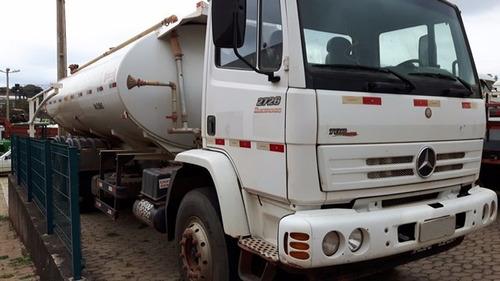 2 unidades mercedes 2726 6x4 ano 2011/2012  pipa gascom