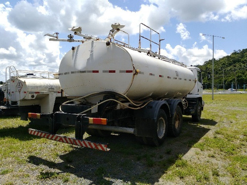 2 unidades mercedes-bens 2423 k 6x4 ano 2008  pipa gascom