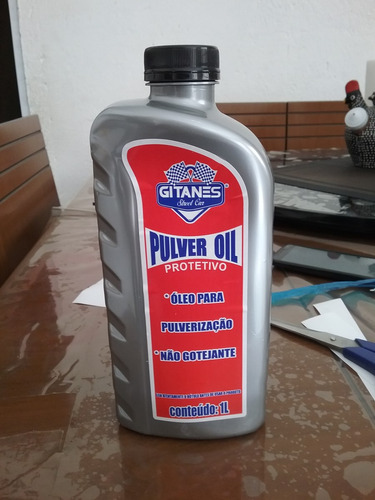 2 unids de óleo de mamona puver oil gitanes 1l