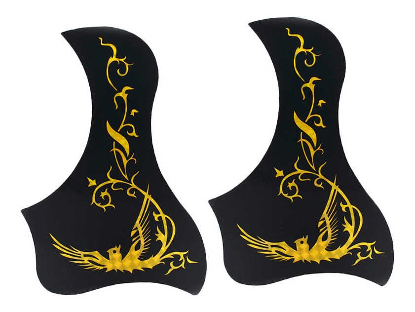 2 Unids Golpeador De Guitarras Anti Rasguño Para