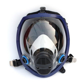 2 Unids Máscara Química De Cara Completa Máscara Anti-gas