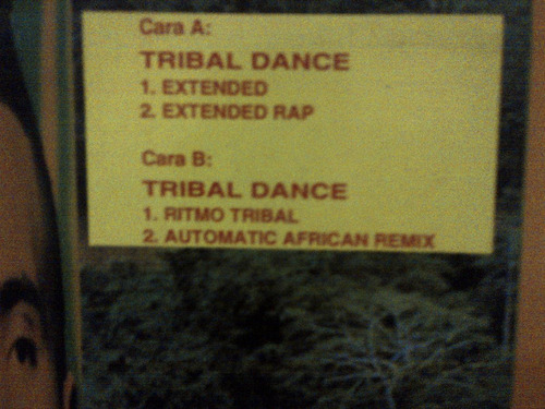 2 unlimited - tribal dance vinyl maxi
