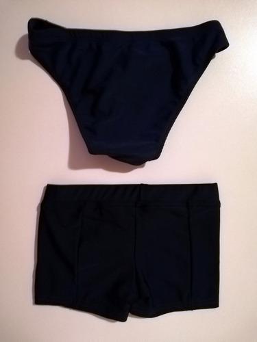2 vestidos de baño 201 - niño - sirena - talla 6 - lycra