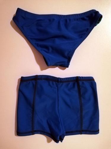 2 vestidos de baño 204 - niño - sirena - talla 6 - lycra