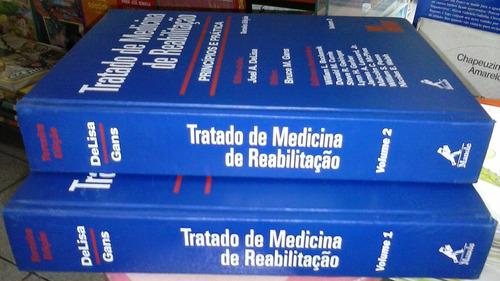 2 vol tratado medicina reabilitação principios prática 3ªed