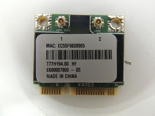 2 - wireless de netbook acer aspire one ao722 usado