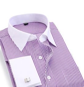 Camisa Hombre Económica Camisas Formal de Hombre Larga