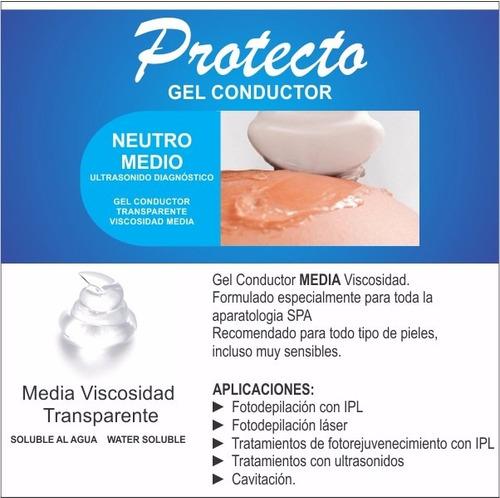 2 x 1kg protecto gel neutro transparente envío gratis