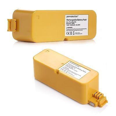 2 x 3500ma 14.4v ni-mh batería para irobot roomba 400 410 41