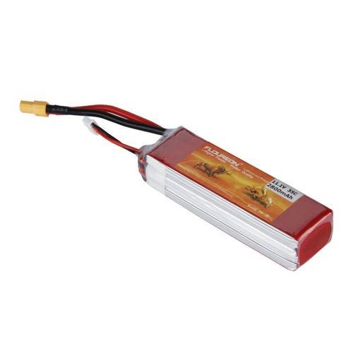 2 x 3s 11.1v 2800mah 35 c lipo rc batería pack xt60 conector